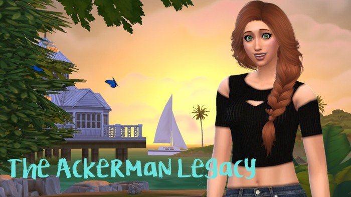 Sims 4 The Ackerman Legacy